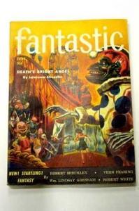 FANTASTIC-JUNE 1954-WILD ROLLER COASTER CVR VG