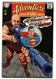 ADVENTURE COMICS #358 1967-HUNTER-SUPERBOY-LEGION SUPER HEROES-VF