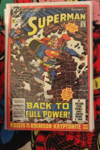 Superman 50 2nd print NM