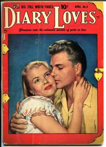 Diary Loves  #9 1951-Quality-Bill Ward art-photo cover-nice poses-VG-