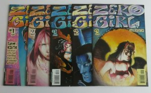 Zero Girl #1 2 3 4 5 Complete Set High Grade VF/NM Homage Comics Sam Kieth