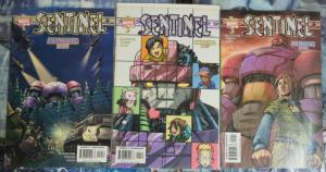 SENTINEL (2003) 10-12  AWAKENING X-Men Giant Robots!