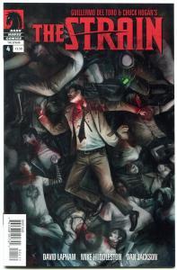 The Strain #4 2012- David Lapham- Guillermo Del Toro- high grade 1st print