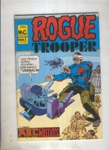 Rogue Trooper numero 4: Evacion (numerado 1 en trasera)