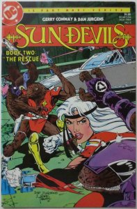 SUN DEVILS #5, VF/NM, Conway, Jurgens, DC 1984  more DC in store