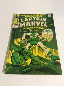 Captain Marvel Gd/Vg Good/Very Good 3.0 Marvel Comics Silver Age