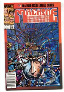 Machine Man #1 1984-Newsstand variant First issue-Marvel comic boom NM-