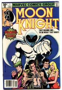 MOON KNIGHT #1 1st issue 1988-MARVEL COMICS-VF+