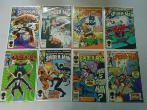 Spectacular Spider-Man lot 26 diff 75c covers #111-137 8.0 VF (1986-88)