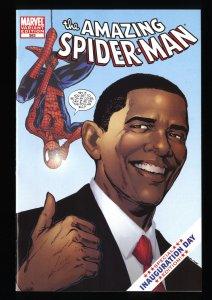 Amazing Spider-Man #583 NM+ 9.6 1st Print Obama Variant