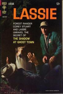 Gold Key LASSIE (1950 Series) #68 VG-