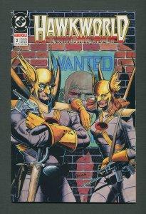Hawkworld #2  /  9.2 NM-  /  July 1990