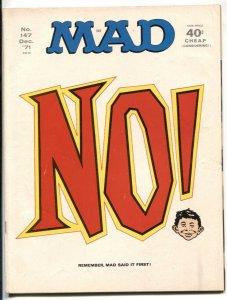 Mad-Magazine #147 1971 great NO! cover F/VF