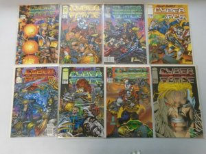 Cyberforce Image Comics 8 Different Books 8.0 VF (1993)