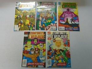 Infinity Crusade near set #1-5 missing #6 8.0 VF (1993)