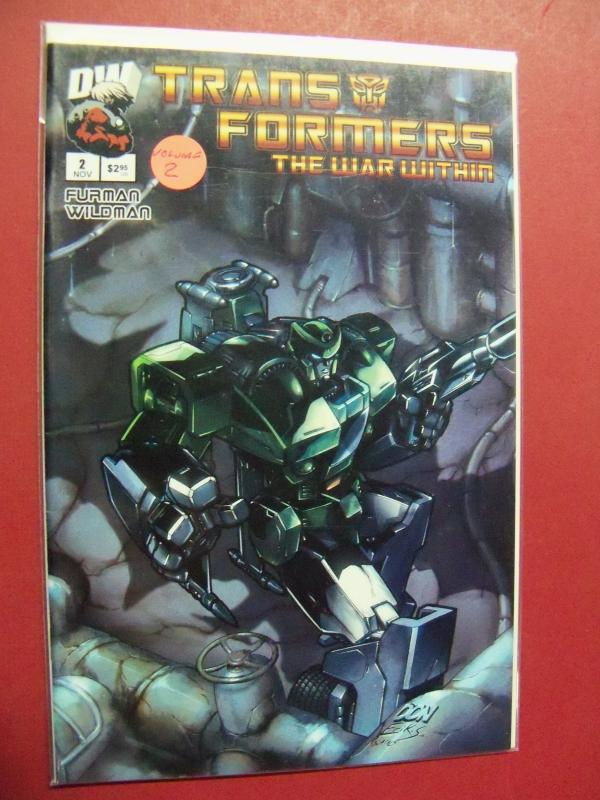 TRANSFORMERS  THE WAR WITHIN  #2 VOLUME 2 VERY FINE/NEAR MINT 1ST PRINT
