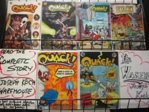 QUACK (1976)1-6 Dave Stevens, Dave Sim, Sergio Aragones