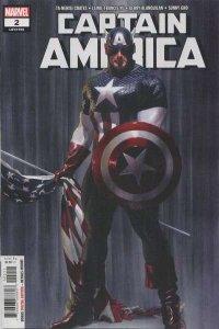Captain America (Sept 2018 series) #2, NM- (Stock photo)