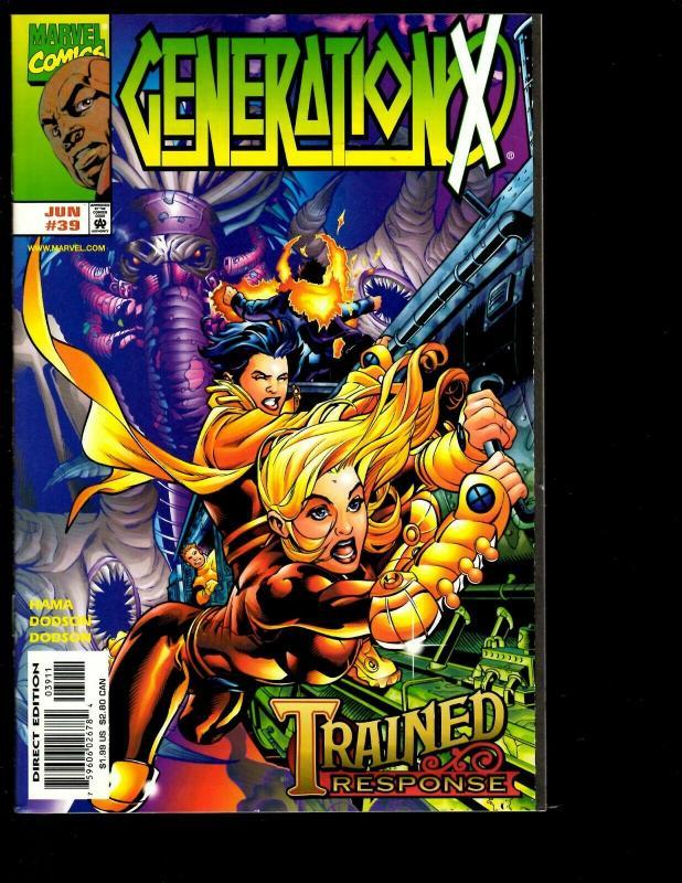 Lot of 12 Generation X Marvel Comics # 30 31 32 33 34 35 36 37 38 39 40 41 JF26