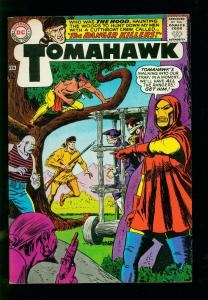 TOMAHAWK #96-1965- DC WESTERN -1ST APPEARANCE OF THE HOOD- SILVER AGE-vf minus