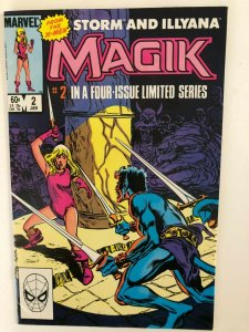 MAGIK #2 IN A 4 ISSUE MINI SERIES--1983 MARVEL / VF/+ QUALITY