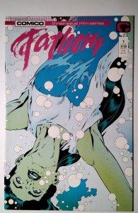 Fathom #1 (1987) Comico  Comic Book J756