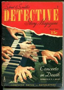 Detective Story 5/1944-pulp crime fiction-WG Bogart-FN