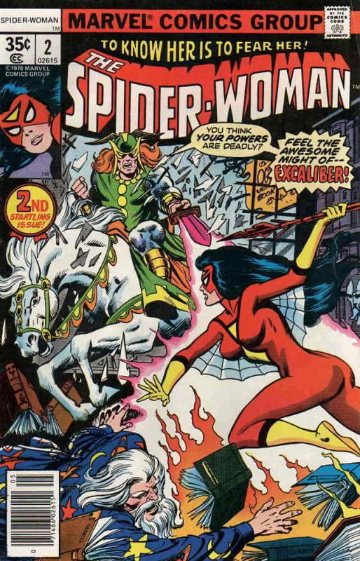 Spider-Woman #2 FN; Marvel | save on shipping - details inside
