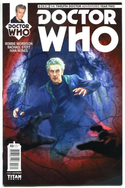 DOCTOR WHO #3 4 5 A, NM, 12th, Tardis, 2016, Titan, 1st, more in store, Sci-fi