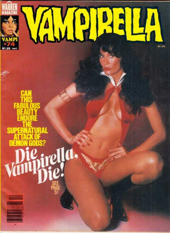 Vampirella Magazine #74 (Dec-78) VF+ High-Grade