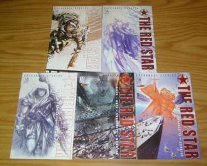 the Red Star vol. 2 #1-5 VF/NM complete series - archangel/crossgen 2 3 4 set
