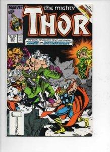 THOR #383 VF/NM God of Thunder Dr Doom 1966 1987, more Thor in store, Marvel