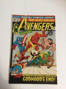 Avengers 97 Vf Very Fine 8.0 Marked On Cover Otherwise Beautiful