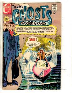 7 Charlton Comics Dr. Graves 11 12 29 Manor 3 Tales 3 78 Ghostly Haunts 32 JL29
