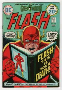 Bronze Age Flash Comics #227 6.0 Fine condition Flash this is your Death 1973