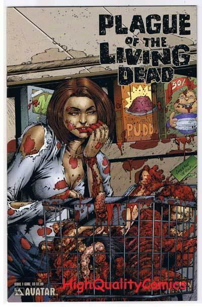 PLAGUE of the LIVING DEAD #1, NM+, Zombies, Gore, 2007, more Horror in store