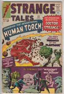 Strange Tales #121 (Jun-64) VG/FN Mid-Grade Human Torch, the Thing, Doctor St...