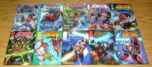 Union #0 & 1-4 VF/NM complete series + vol. 2 #1-9 image comics super hero set