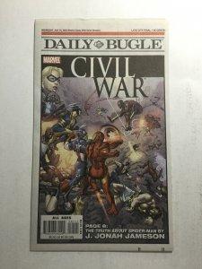 Daily Bugle Civil War Fn Fine 6.0 Marvel Comics