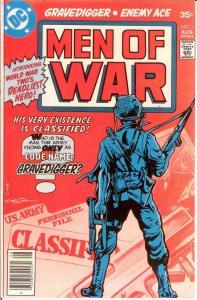 MEN OF WAR (1977-1980) 1 VF-NM Aug. 1977 COMICS BOOK