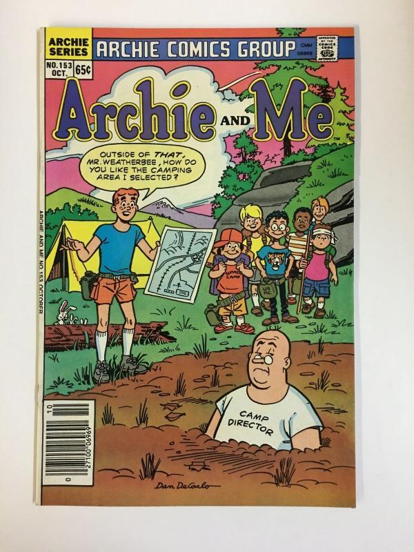 ARCHIE & ME (1964-1987)153 VF-NM  Oct 1985 COMICS BOOK