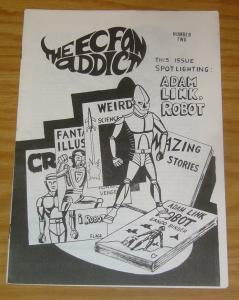 EC Fan Addict #2 VF- adam link robot - fanzine 1968 - title becomes seraphim