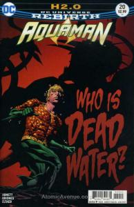 Aquaman (8th Series) #20 VF/NM; DC | save on shipping - details inside
