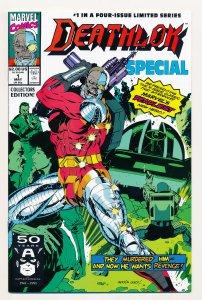 Deathlok Special (1991) #1-4 NM Complete series