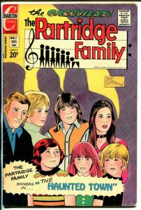 Partridge Family #11 1972-Charlton-David Cassidy-Shirley Jones-Susan Dey-FN