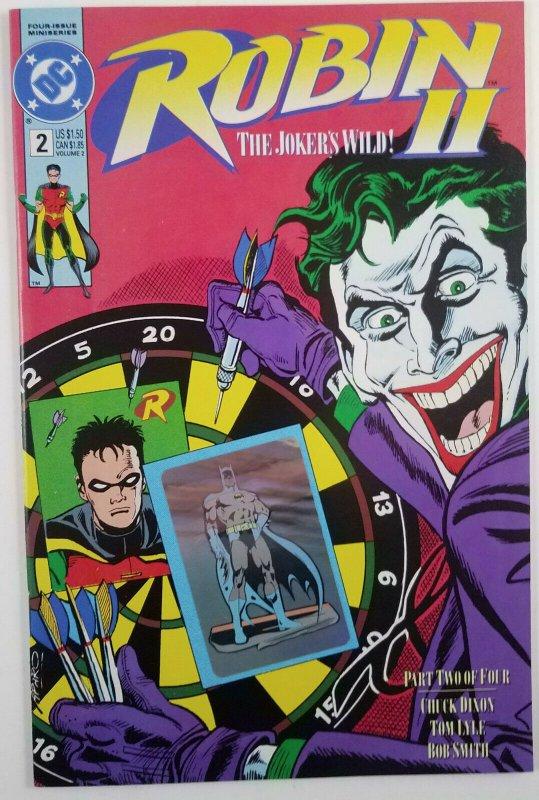 ?Robin The Jokers Wild 2 - 1991 Limited Mini-Series Compete Run 1-4 DC Comic