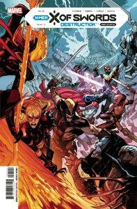 X OF SWORDS DESTRUCTION #1 - MARVEL COMICS - JANUARY 2021