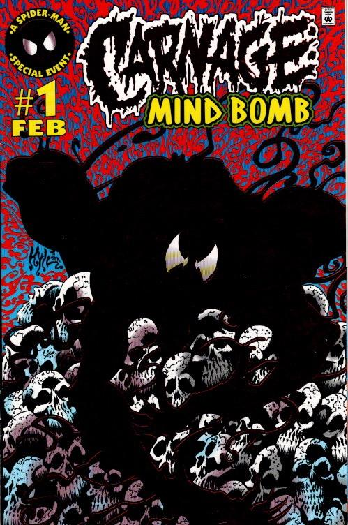 CARNAGE MIND BOMB #1 VFN $40.00