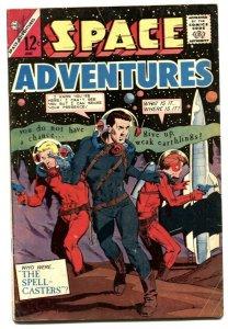 Space Adventures #57 1964- Spellcasters VG