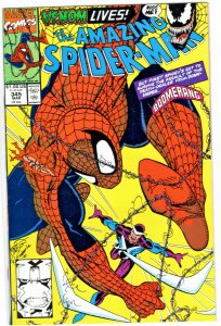 Amazing Spider-Man 345 - Cletus Kasady is infected by symbiote